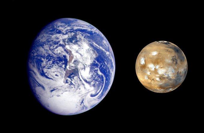 Estará Marte más cerca de la Tierra por una semana
