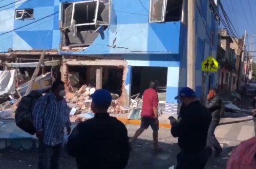 Explosión en alcaldía de CDMX deja cinco heridos