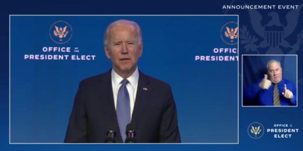Designa Joe Biden a su secretario de Justicia