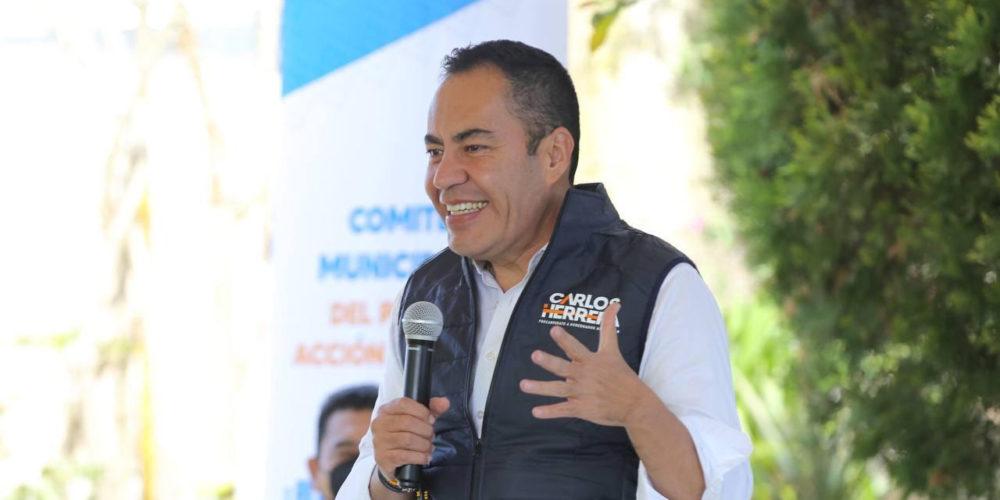 Inicia Carlos Herrera su precampaña
