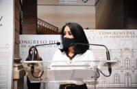 Lucila Martínez respalda Ley cubrebocas