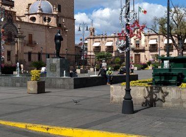 Morelianos mantienen movilidad en el Centro