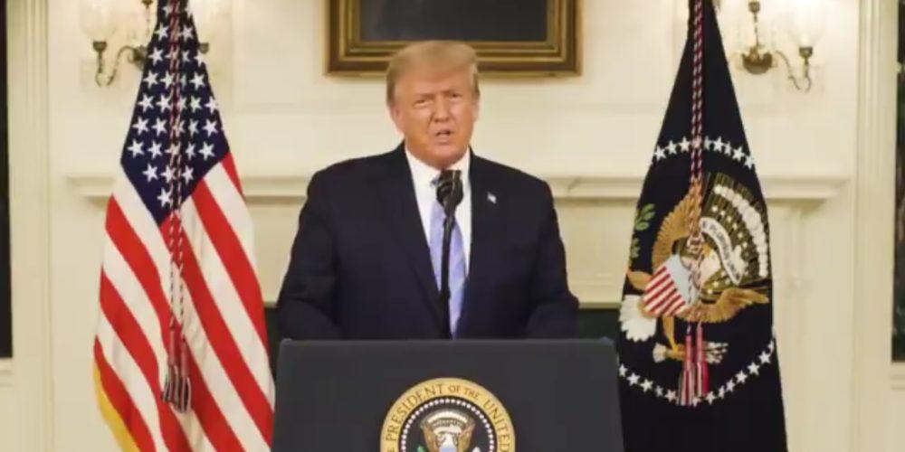 Reconoce Trump derrota