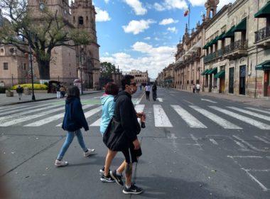 Se ha reducido un 20% movilidad en Morelia