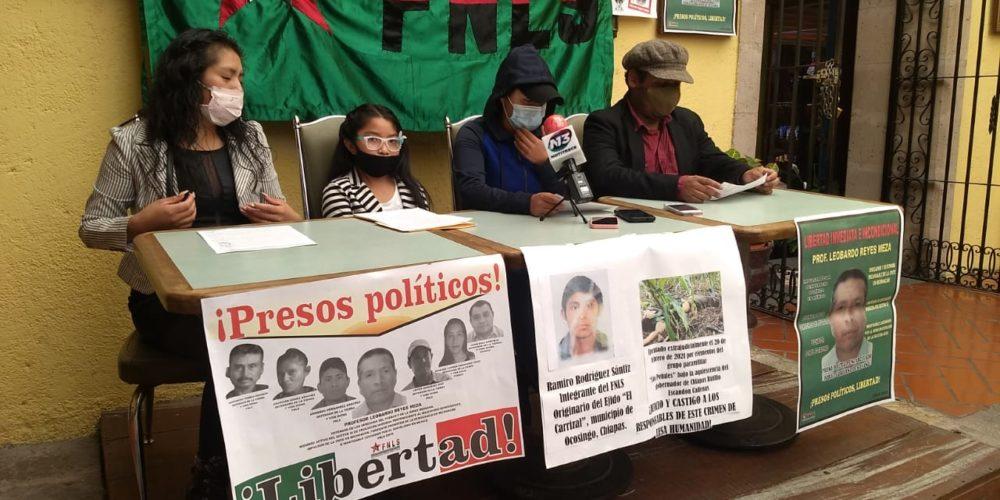 FNLS exige liberación de profesor acusado de robo