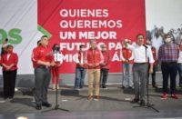 Oficial Carlos Herrera es candidato del PRI al gobierno de Michoacán