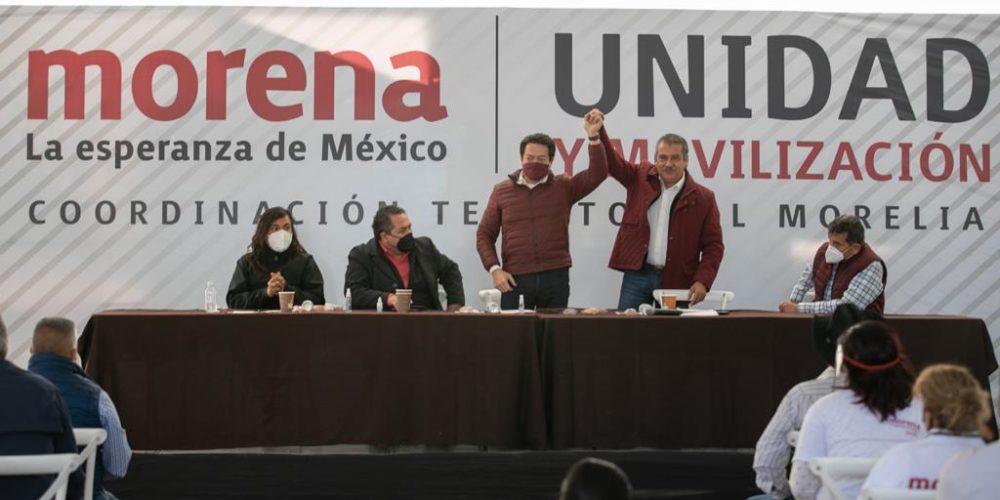 Raúl Morón 4T en Michoacán