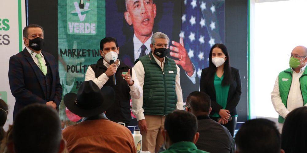 partido Verde candidaturas estatales