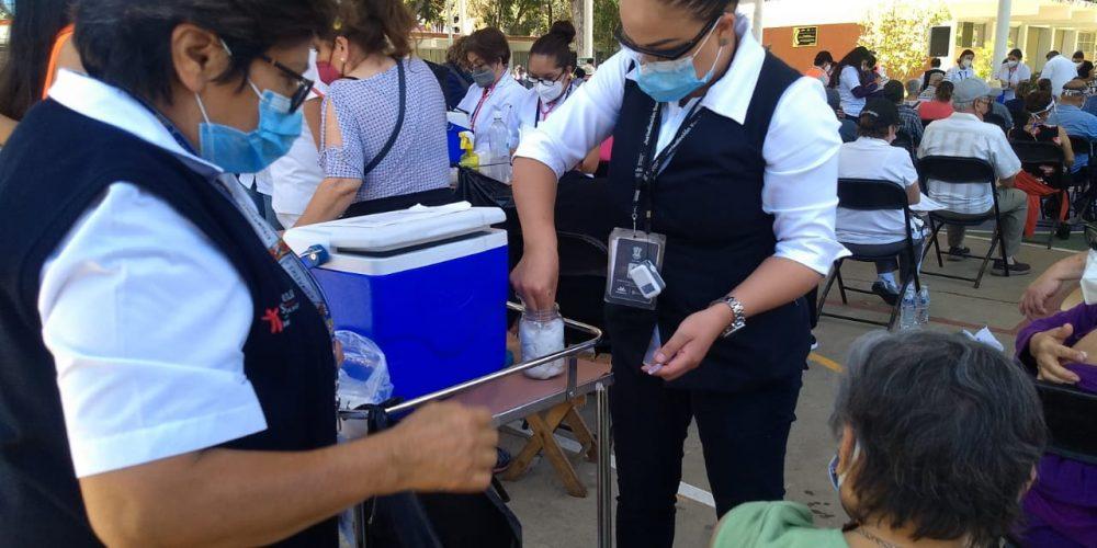 vacunación en tenencias de Morelia