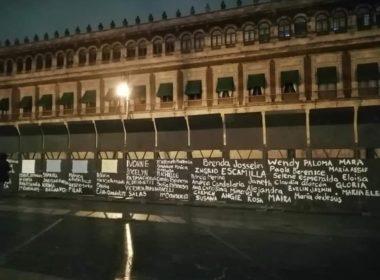 Justifica AMLO vallas frente a Palacio Nacional