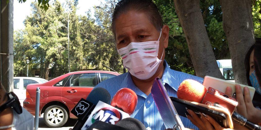 Sanitizarán escuelas de Morelia para regreso a clases
