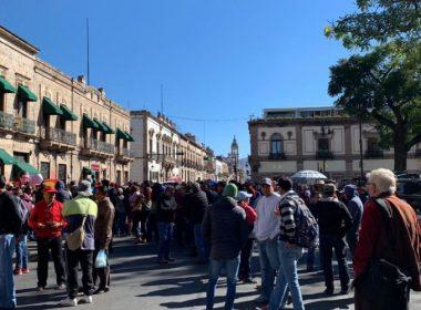 Se plantará la CNTE frente a Palacio de Gobierno