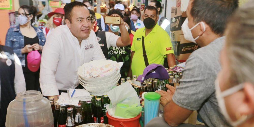 Carlos Herrera por la renovación de los mercados
