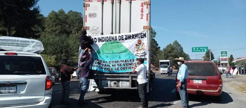 Consejo Supremo Indígena bloqueó carreteras