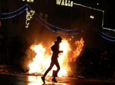 Disturbios en Jerusalén dejan más de 100 heridos