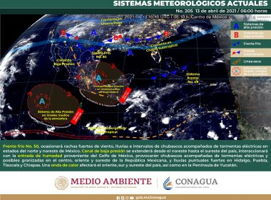 Estado del meteorológico para hoy martes