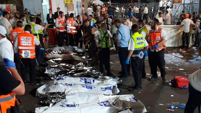 Evento religioso concluye con 44 muertos