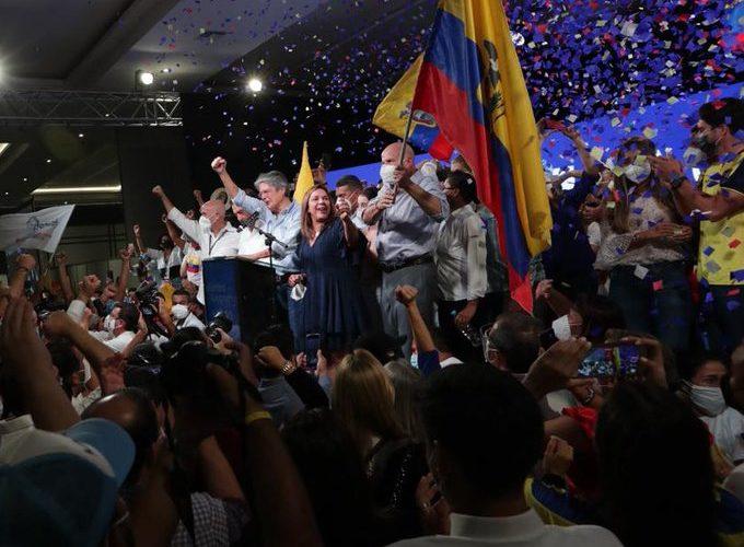 Guillermo Lasso nuevo presidente de Ecuador