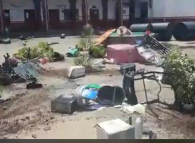 Indígenas secuestran síndico policías