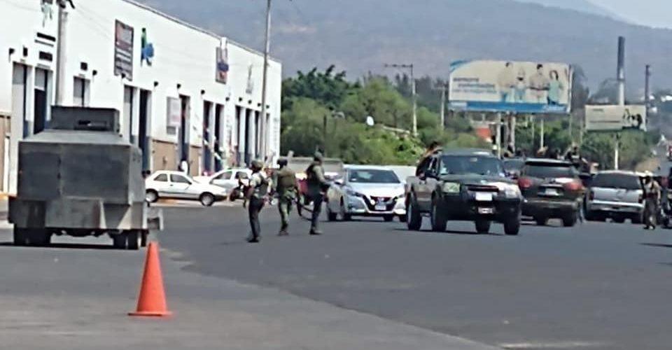Reportan narco retén Los Reyes