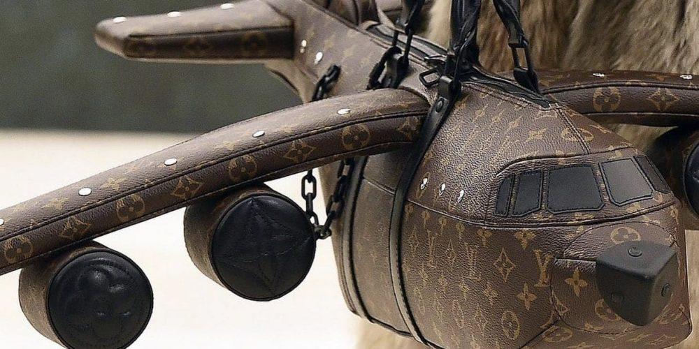 Louis Vuitton lanza un bolso con forma de avión