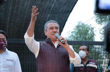 Pide Raúl Morón a INE honrar resolución del Tribunal Electoral