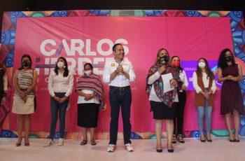 gobernador de las mujeres Carlos Herrera