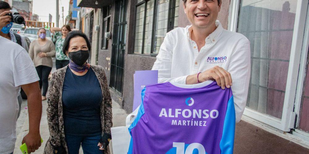 Alfonso Martínez rumbo a la alcaldía