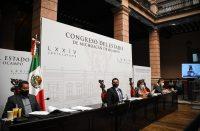 Condecoración Melchor Ocampo 2020 y 2021