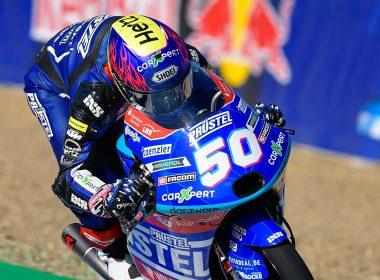 Homenajean a Jason Dupasquier tras su muerte en MotoGP de Italia