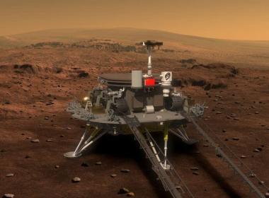 Logra China aterrizar vehículo en Marte
