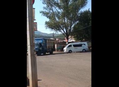 Normalistas roban camión cerveza