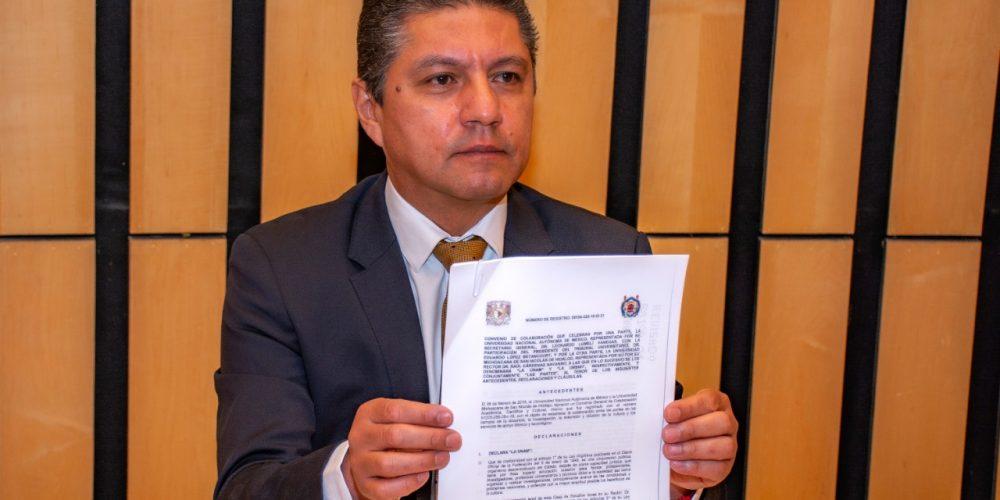 convenio UMSNH Y LA UNAM