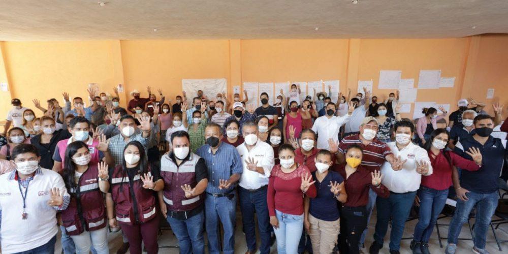 firmeza de la Cuarta Transformación en Michoacán