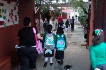 Silvano retornaron clase escuelas