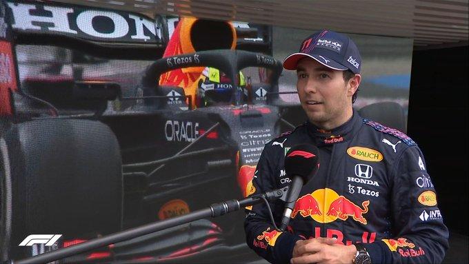 Checo Pérez vuelve a subir al podio en Gran Premio de F1