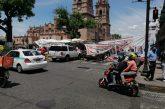 Comerciantes del Centro acusan a plantón CNTE de pérdidas económicas de 3 mdp