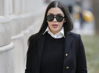 Esposa de El Chapo se declara culpable