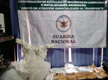 Morelia metanfetamina vestido de novia