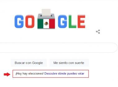 Google se suma a las elecciones en México