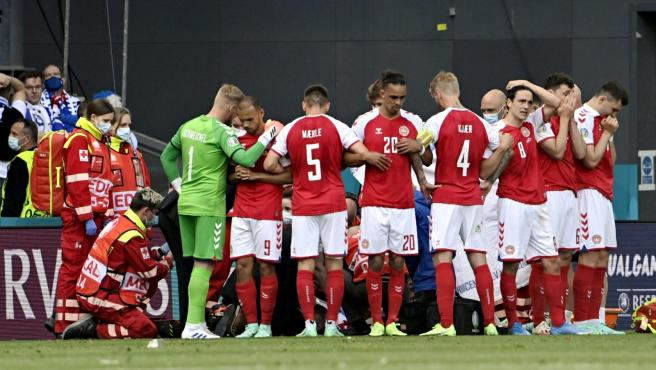 Jugador desploma partido UEFA