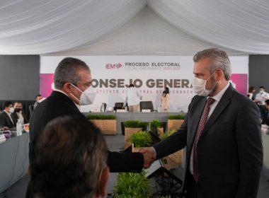 Pese a inconsistencias del IEM, la 4T llegará a Michoacán con Alfredo Ramírez Raúl Morón