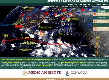 Pronóstico meteorológico general de hoy lunes