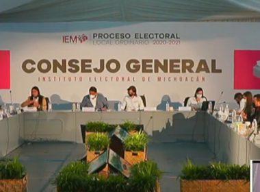 robo paquetes electorales grupos armados