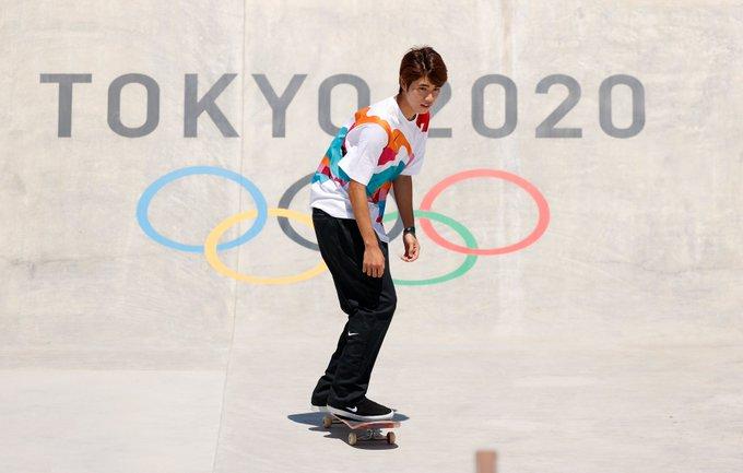 Brasil destaca en primera final olímpica de la historia de skateboard