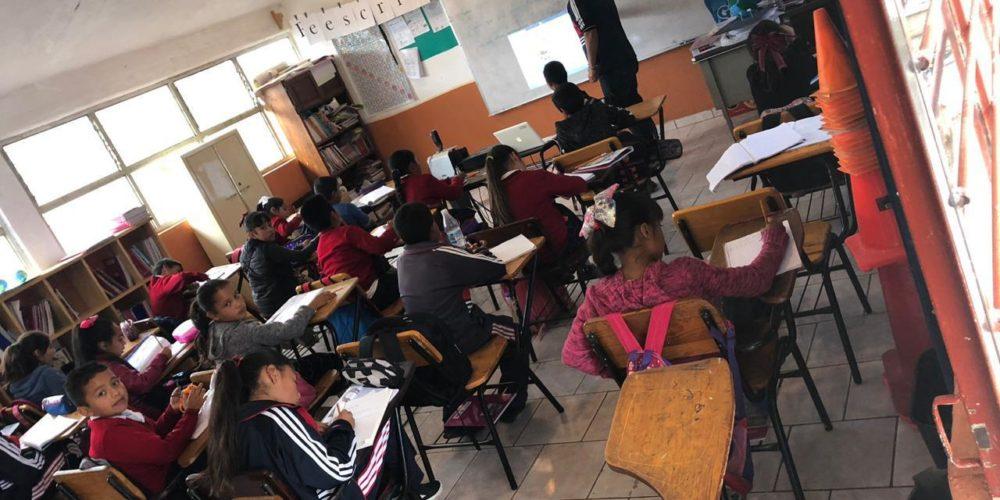 CNTE no ve viable regreso a clases presenciales