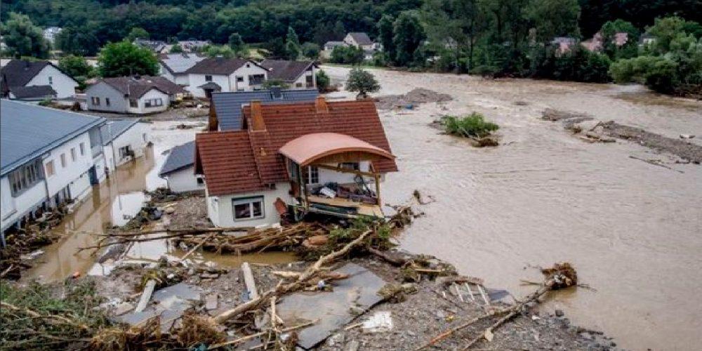 Inundaciones en Alemania y Bélgica dejan decenas de muertos
