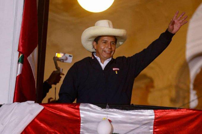 México se suma a felicitación de Pedro Castillo como presidente de Perú