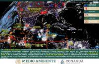 Reporte meteorológico nacional para hoy miércoles