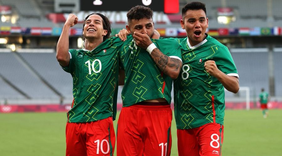 Selección mexicana vence a Francia en Tokio 2020